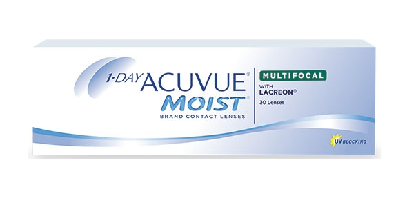 JOHNSON & JOHNSON 1-DAY ACUVUE MOIST MULTIFOCAL 30