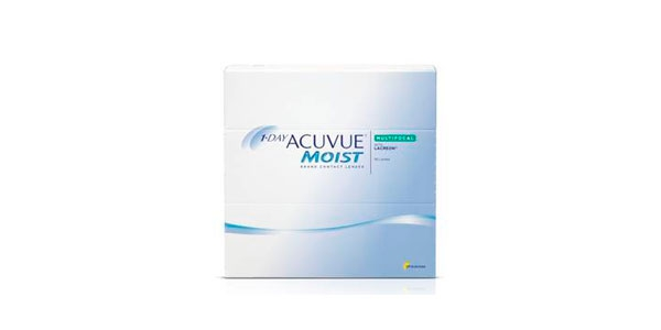 JOHNSON & JOHNSON 1-DAY ACUVUE MOIST MULTIFOCAL 90