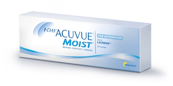 JOHNSON & JOHNSON 1-DAY ACUVUE MOIST for ASTIGMATISM C 30