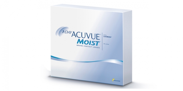 JOHNSON & JOHNSON 1 DAY ACUVUE MOIST 90