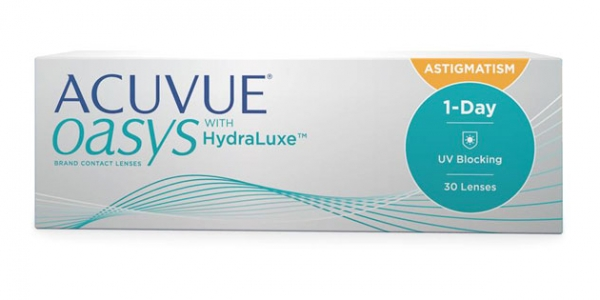 JOHNSON & JOHNSON ACUVUE OASYS 1 DAY FOR ASTIGMATISM 30