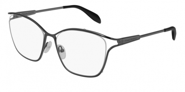 ALEXANDER MCQUEEN AM0196O RUTHENIUM-RUTHENIUM-TRANSPARENT