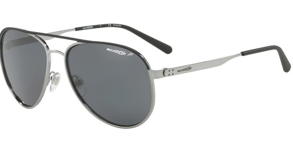 ARNETTE AN3071 DWEET BLACK RUBBER/GUNMETAL