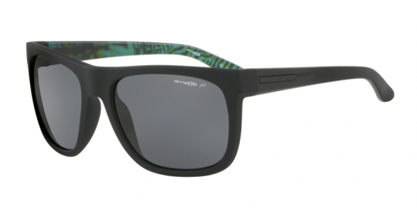 ARNETTE AN4143 FIRE DRILL BLACK RUBBER polar grey