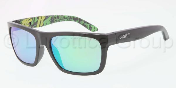 ARNETTE AN4176   DROPOUT BLACK/GRAY MIRRON GREEN