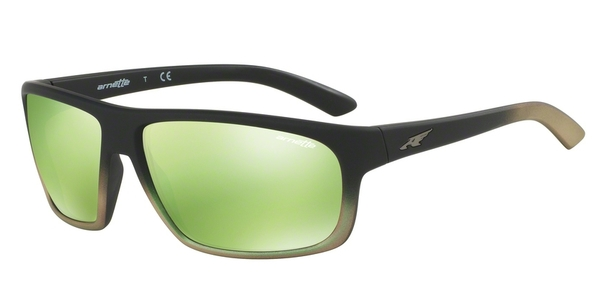 ARNETTE AN4225 BURNOUT BLACK GRAD SHOT GREEN