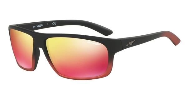 ARNETTE AN4225 BURNOUT BLACK GRAD SHOT RED