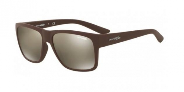 ARNETTE AN4226 RESERVE MATE BROWN LIGHT BROWN MIRROR DARK GOLD