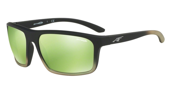 ARNETTE AN4229 SANDBANK BLACK GRAD SHOT GREEN