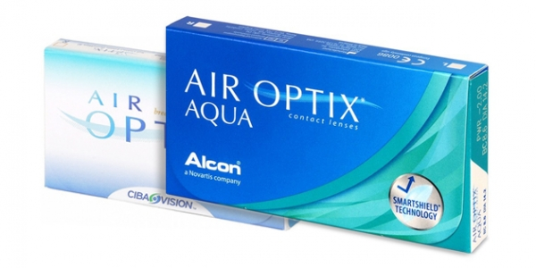 Alcon AIR Optix Aqua 6 Lentilles de Contact   Visual-Click fb58a5875eeb