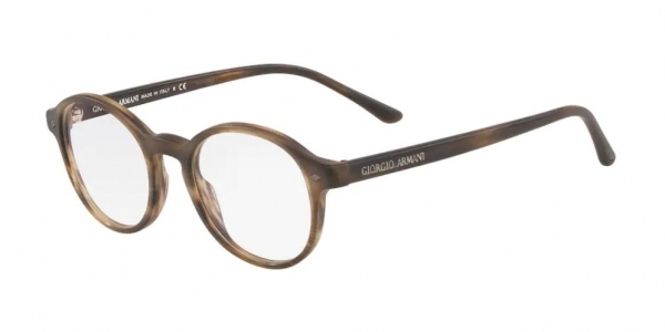 GIORGIO ARMANI AR7004 MATTE STRIPED BROWN