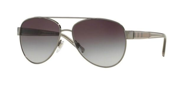 BURBERRY BE3084 GUNMETAL