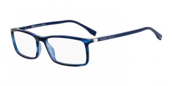 HUGO BOSS BOSS 0680/N BLUE HORN