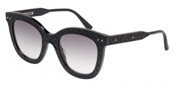 BOTTEGA VENETA BV0035S BLACK / GREY GRADIENT