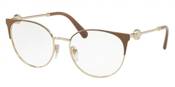 BVLGARI BV2203 MATTE TURTLEDOVE/PALE GOLD