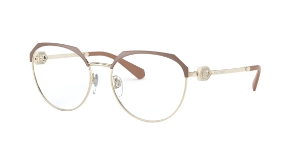 BVLGARI BV2214B MATTE TURTLEDOVE/PALE GOLD