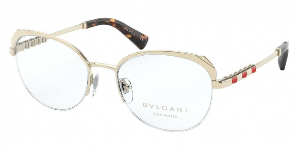 BVLGARI BV2221KB PALE GOLD PLATED