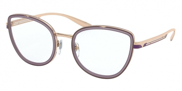 BVLGARI BV2222 PINK GOLD /PURPLE TRASPARENT