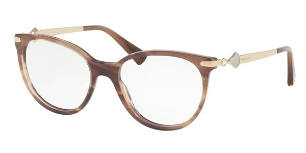 BVLGARI BV4143B STRIPED BROWN