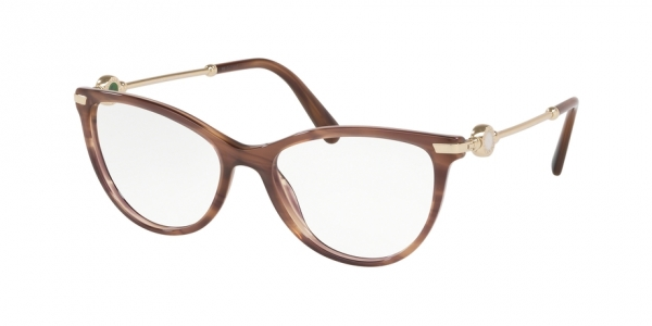 BVLGARI BV4162 STRIPED BROWN