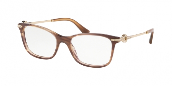 BVLGARI BV4173B STRIPED BROWN