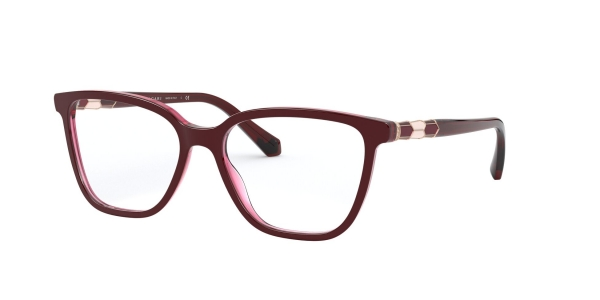 BVLGARI BV4184B TOP BORDEAUX ON TRANSP RED