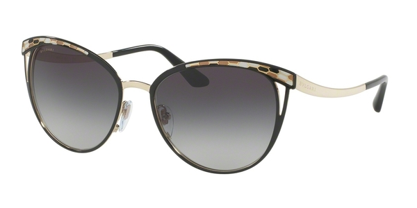 BVLGARI BV6083 BLACK/PALE GOLD