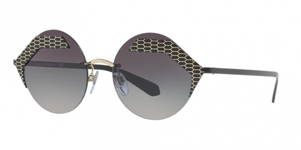 BVLGARI BV6089 SERPENTEYES BLACK / GREY GRADIENT