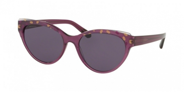 BVLGARI BV8209 GOLD/LILAC ON VIOLET TRANSP