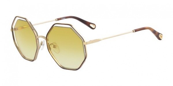 CHLOE POPPY CE132S HAVANA/YELLOW