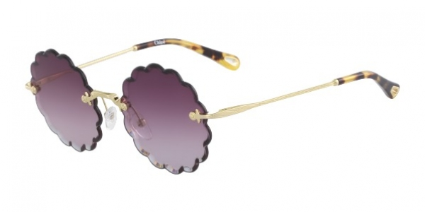 CHLOE ROSIE CE142S GOLD/GRADIENT PURPLE