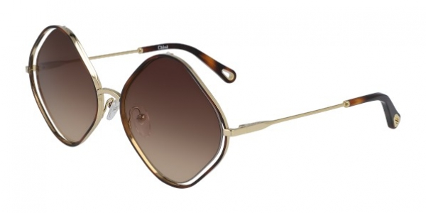 CHLOE CE159S POPPY HAVANA/BROWN