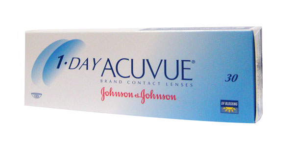 JOHNSON & JOHNSON 1 DAY ACUVUE 30