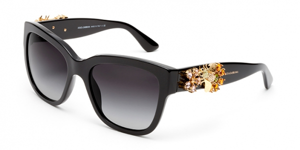 DOLCE & GABBANA DG4247B ENCHANTED BEAUTIES COLLECTION BLACK