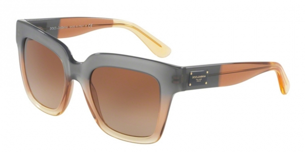 DOLCE & GABBANA DG4286 GRAD BROWN/CARAMEL/YELLOW