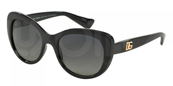 DOLCE & GABBANA DG6090 BLACK POLAR GREY GRADIENT