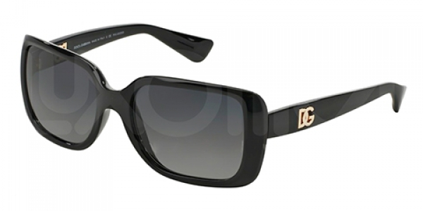 DOLCE & GABBANA DG6093 BLACK POLAR GREY GRADIENT