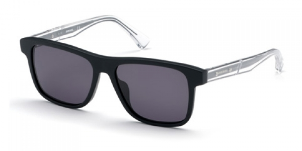 DIESEL DL0279 MATTE BLACK / GREY