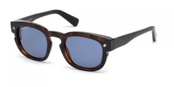 DSQUARED DQ0268 NEW ANDY DARK HAVANA / BLUE