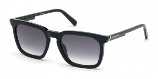 DSQUARED DQ0295 MASON Black Shine