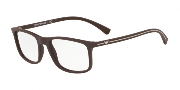EMPORIO ARMANI EA3135 BROWN RUBBER