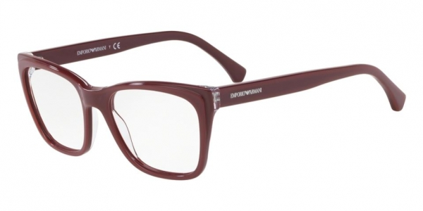 EMPORIO ARMANI EA3146 TRILAYER CRYSTAL BORDEAUX