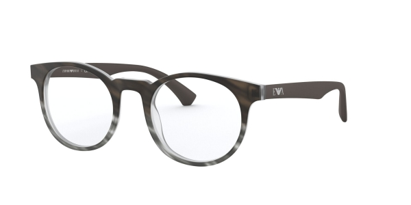 EMPORIO ARMANI EA3156 MATTE STRIPED MUD