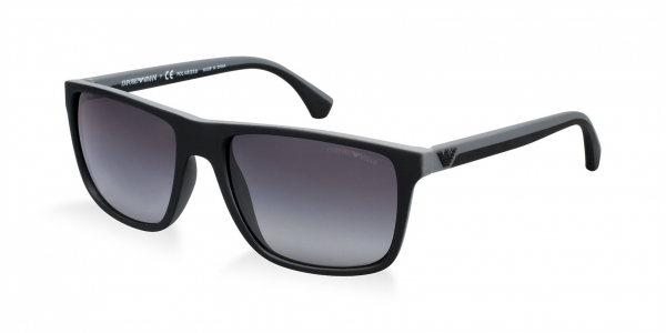 c5c7689561 Emporio Armani EA4033 BLACK GREY RUBBER POLAR GREY GRADIENT 5229T3