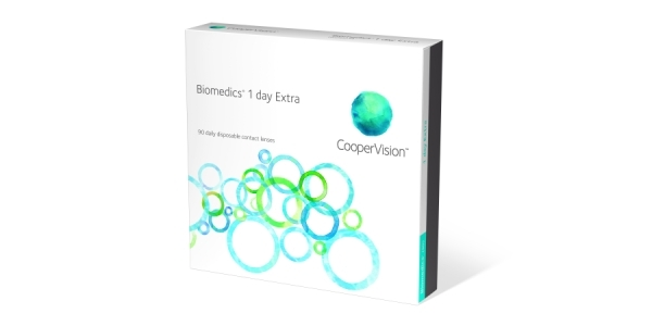 COOPER VISION Biomedics 1 Day Extra 90