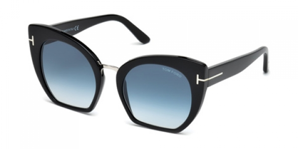 TOM FORD FT0553 SAMANTHA-02 Black Gloss