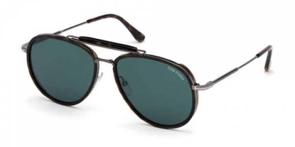 TOM FORD FT0666 TRIPP Dark Havana