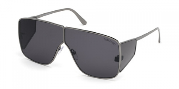 TOM FORD FT0708 SPECTOR Shiny Anthracite
