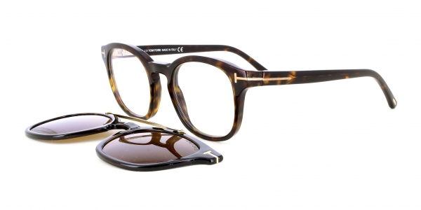 TOM FORD + Solar Clip FT5532-B 52E