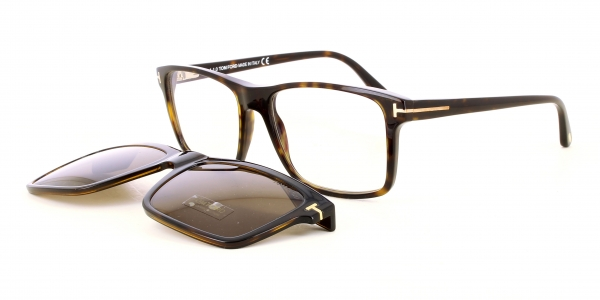 TOM FORD + Solar Clip FT5682-B 052